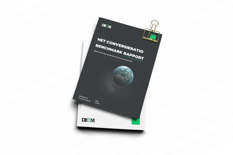 Conversieratio Benchmark Rapport E-commerce